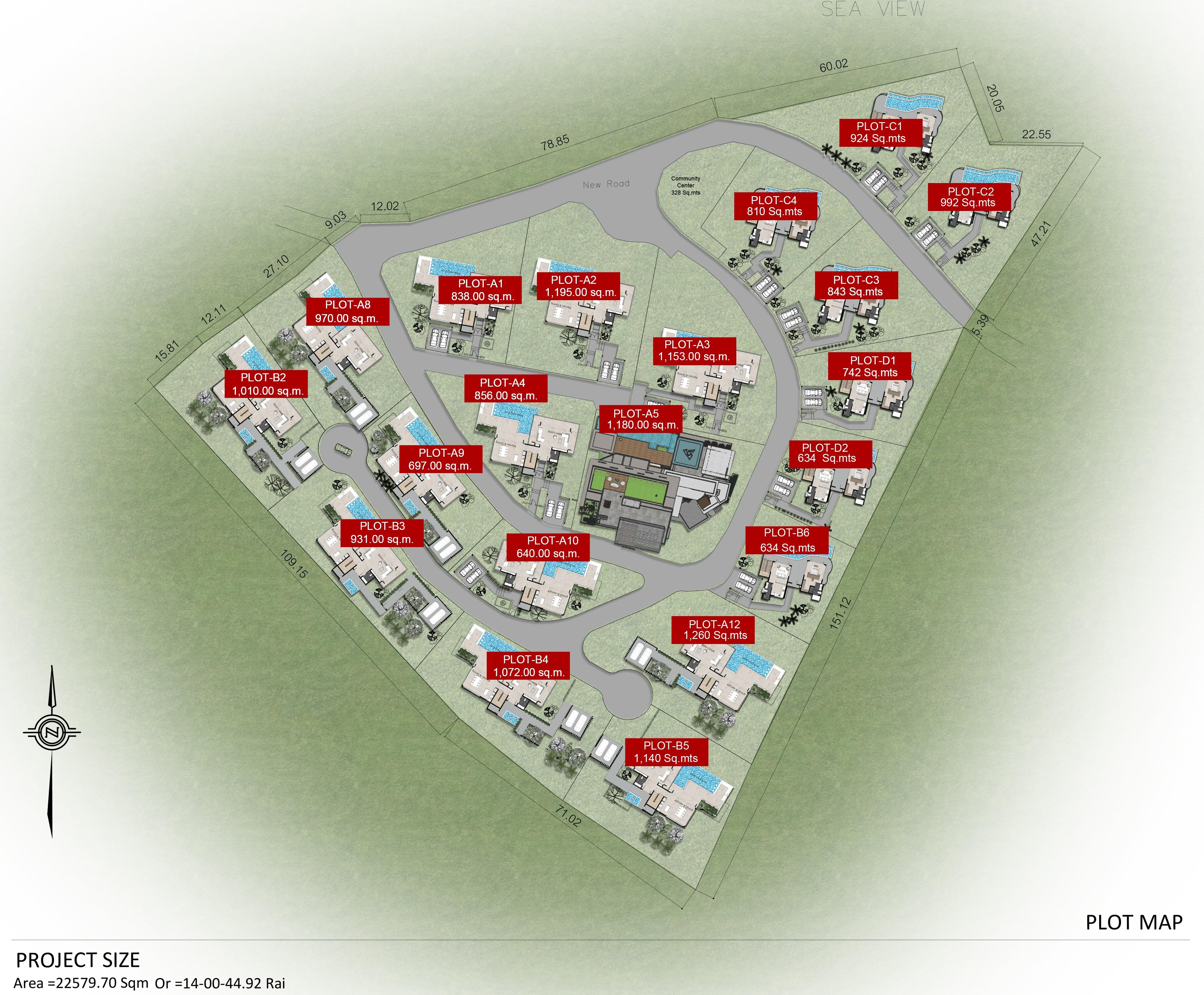 Nara villas master plan